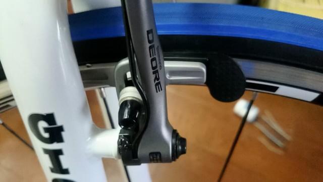自転車 ブレーキシューチューナー