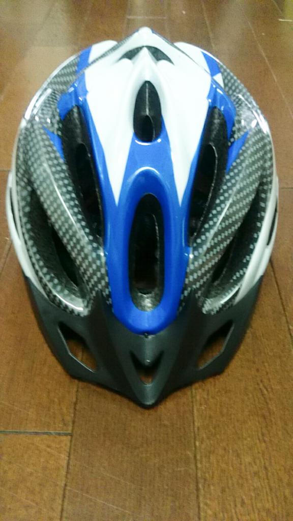 ヘルメット買いました