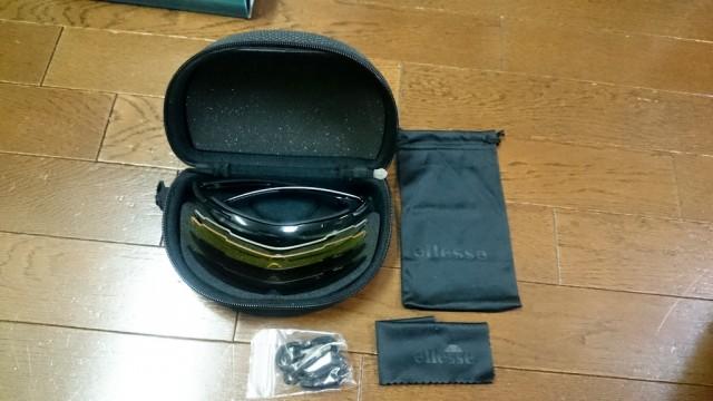 エレッセ スポーツサングラス ES-S104 度付き加工