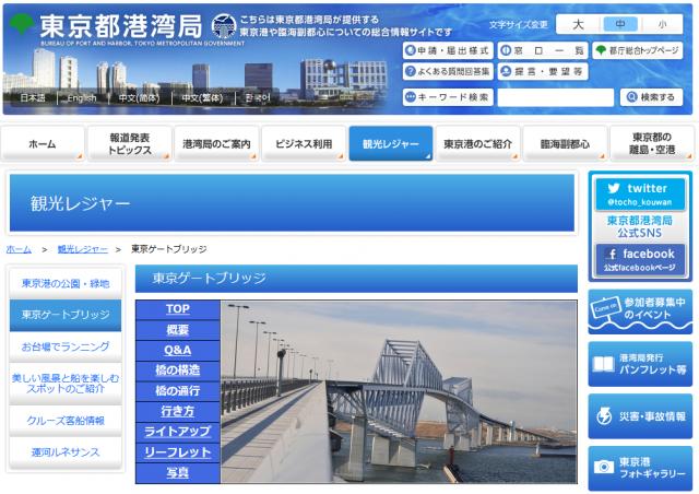 東京ゲートブリッジ(東京都湾港曲)