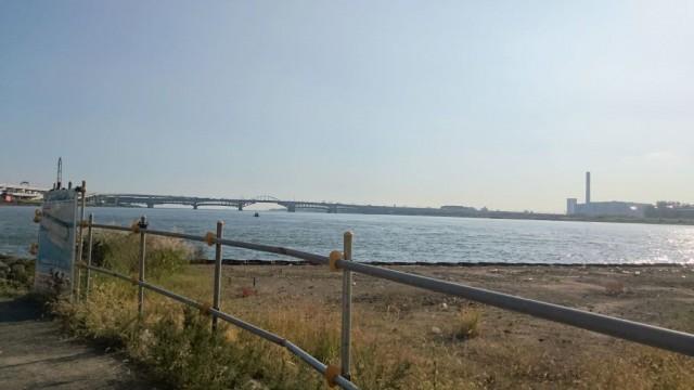荒川サイクリングロード0km地点