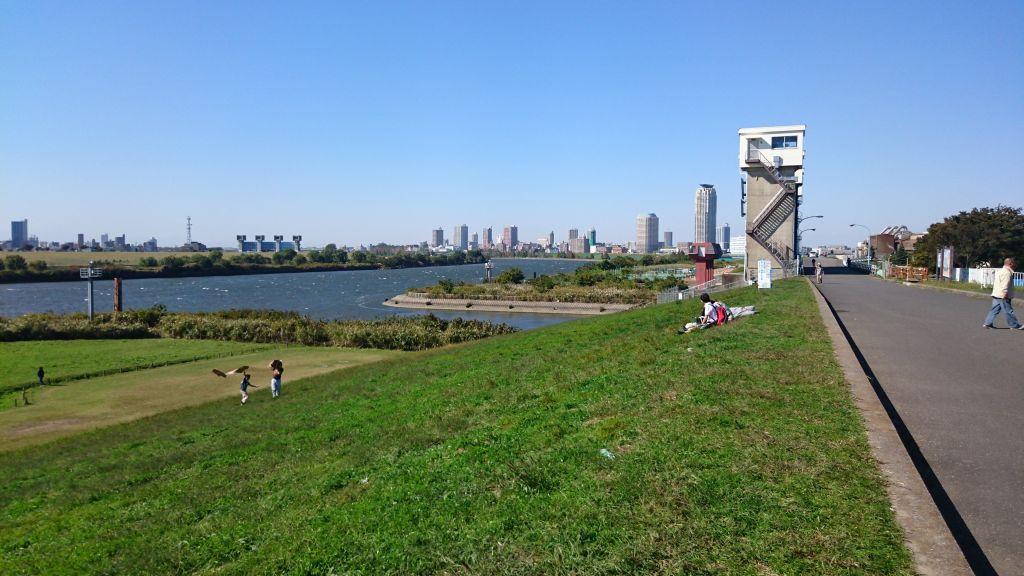 また彩湖までサイクリングに行ってきました。
