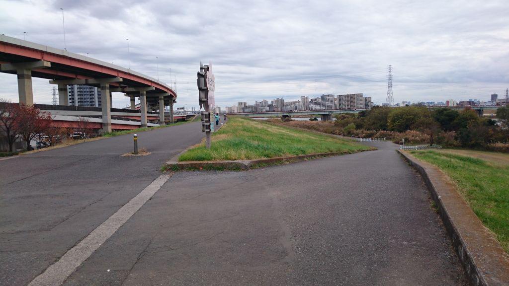 サイクリングに行ってきました(目的地は荒サイの0kmポスト)