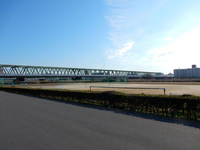 ポニーランド付近の江戸川CR