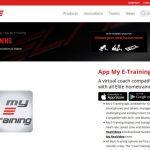 Eliteのトレーニングアプリ(My e-training)が面白そうです