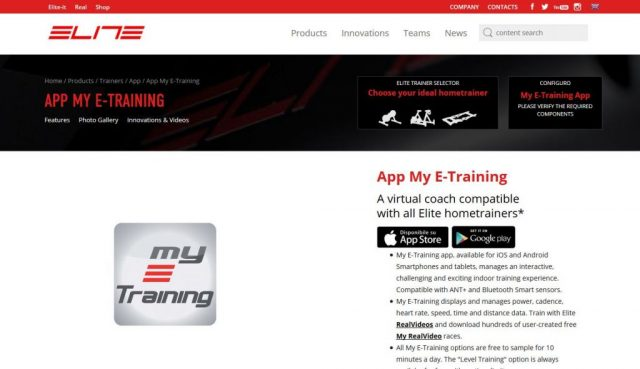 elite my e-training