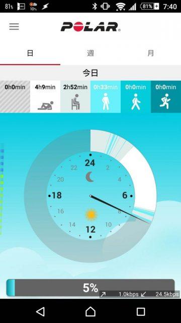 Polar FLow App android