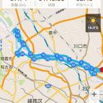 彩湖までサイクリングに行ってきました。