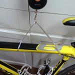 自転車(CAAD8)の重量を測ってみました。