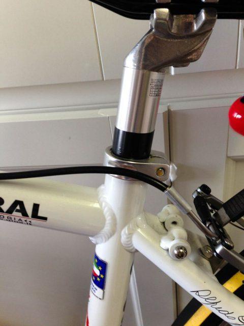 クロスバイク(GIOS MISTRAL)のシートポストの脱着