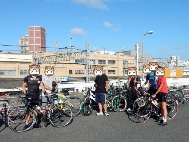 Viaggio Cycling Clubのサイクリング