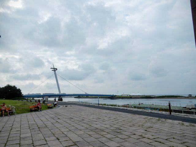 荒川サイクリングロード 葛西臨海公園