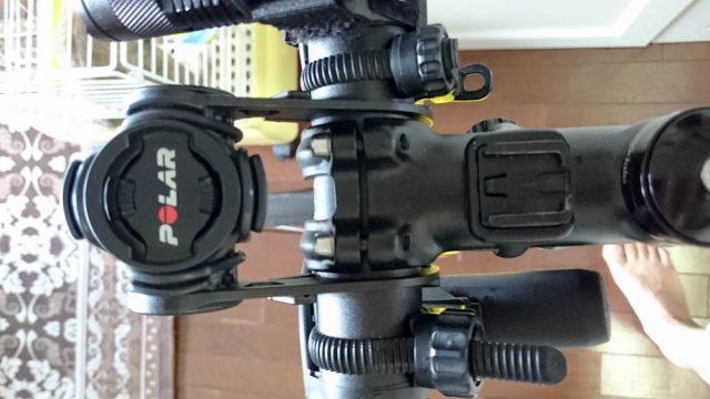 ロードバイクのハンドルの角度