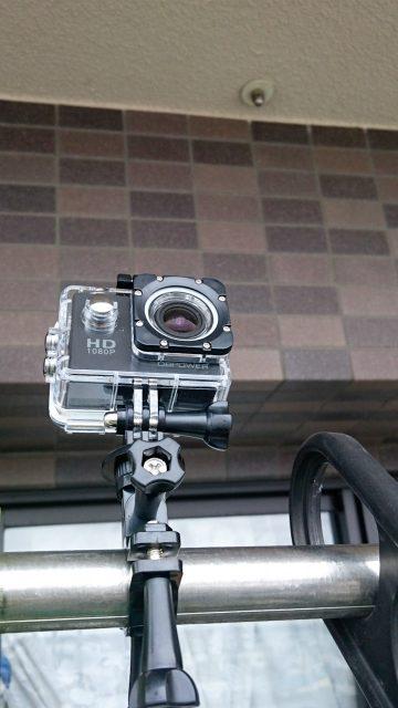 ウェアラブルカメラでタイムラプス撮影