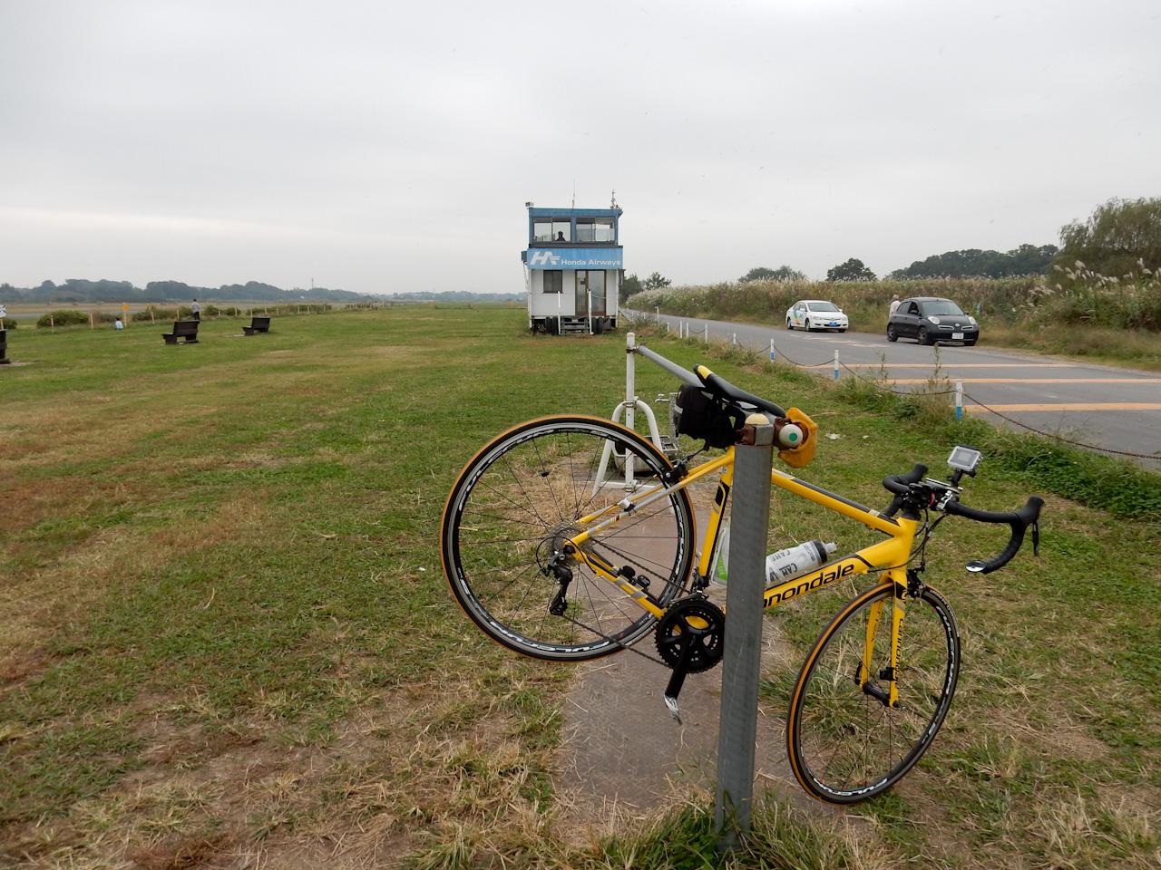 荒川サイクリングロード ホンダエアポート