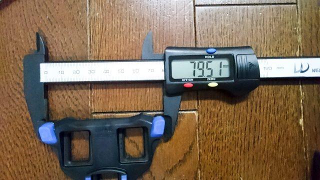 SPD-SLクリート交換 サイズ計測