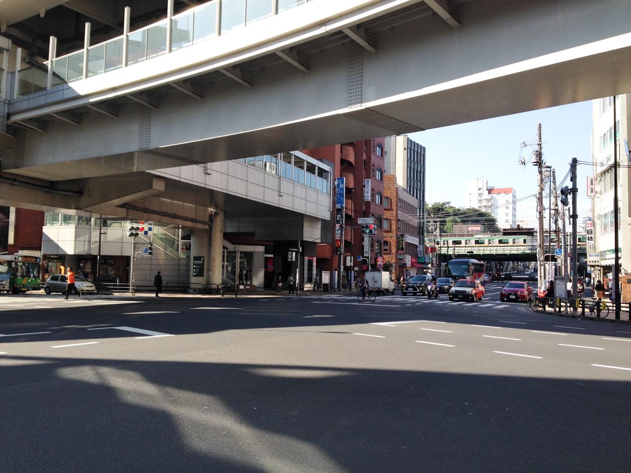 尾久橋通り 西日暮里