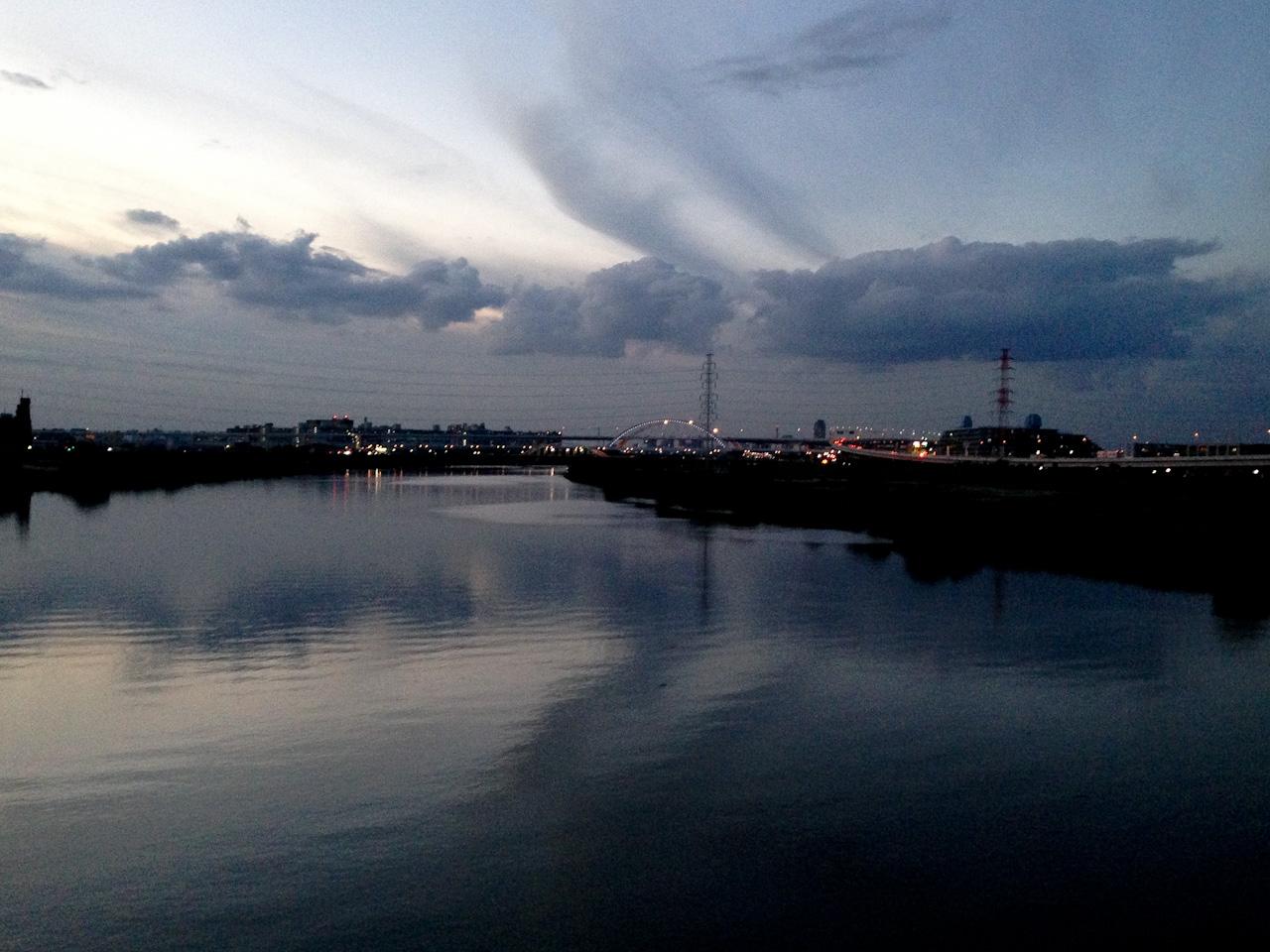 扇大橋 荒川