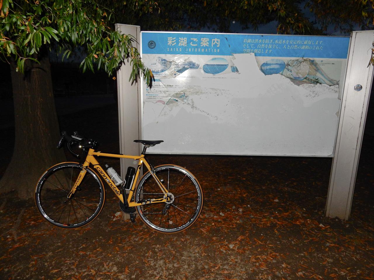 荒川サイクリングロード 彩湖