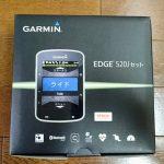 Newサイコンが到着(Gramin Edge 520J)