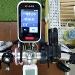 クロスバイク(GIOS MISTRAL)にPolar V650を取り付けました。