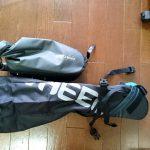 激安サドルバッグ(8L)を買いました。