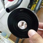 エアロバーにバーテープを巻きました