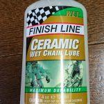FINISH LINE セラミック ウエット ルーブを使ってみました