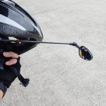 ヘルメットミラーのインプレ