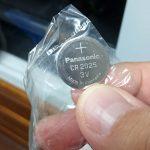 電池買いました(CR2032)
