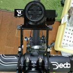 rec-mountsをサイコンを走りながら充電できる様に組み替えました