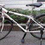 クロスバイクのサドルを交換しました