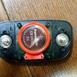 心拍計の電池を交換しました