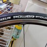 タイヤをMichelin Power Enduranceに交換しました