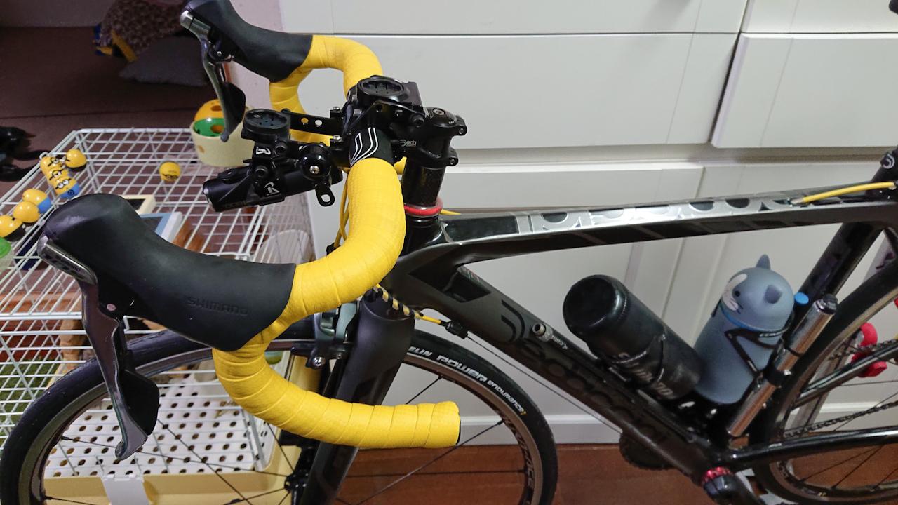 ロードバイク ステム 交換