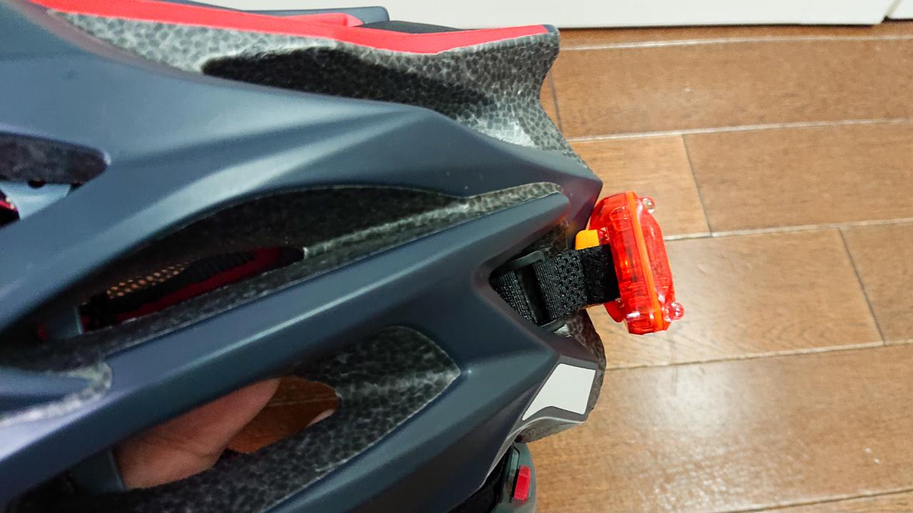 ヘルメット テールライト Bikeguy トライスター リアライト 強力発光