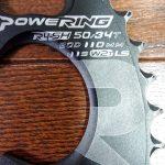 楕円チェーンリングを買いました(Ridea PowerRing)