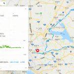 参加予定のブルベ「BRM901西東京200km潮来の伊太郎」のルート等を確認