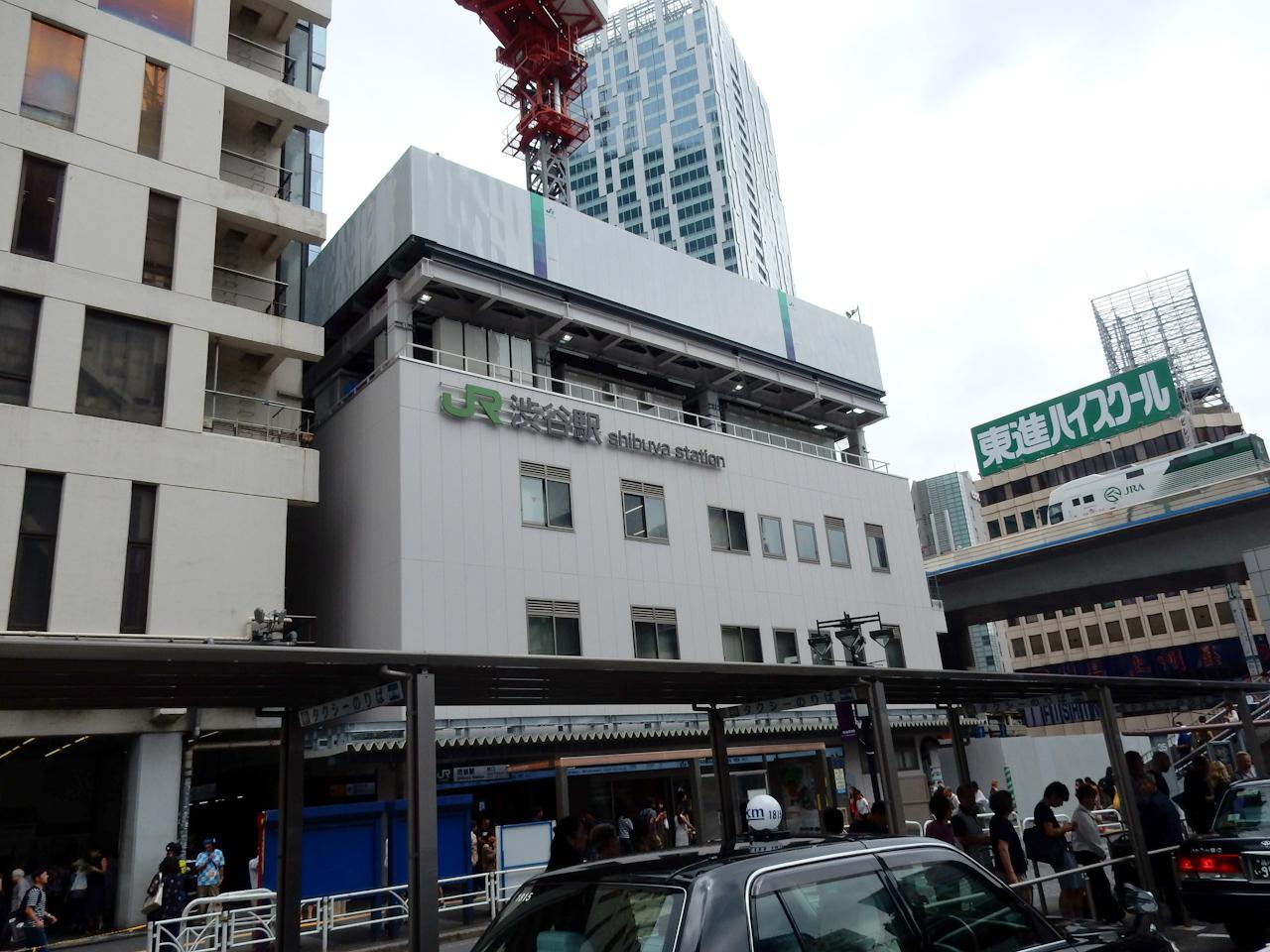 山手線一周 ライド 渋谷