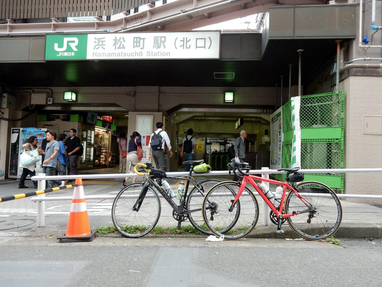 山手線一周 ライド 浜松町駅