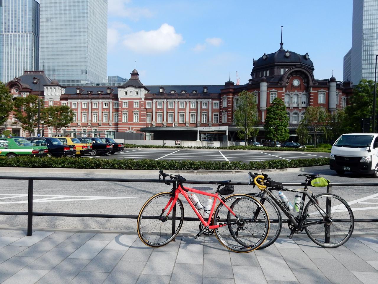 山手線一周 ライド 東京駅