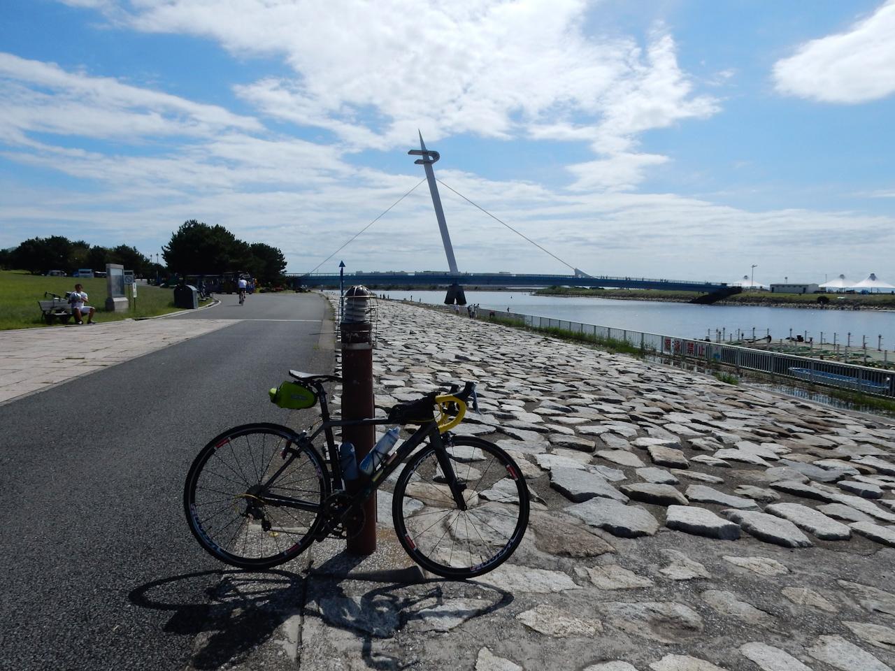 荒川サイクリングロード 左岸 葛西臨海公園
