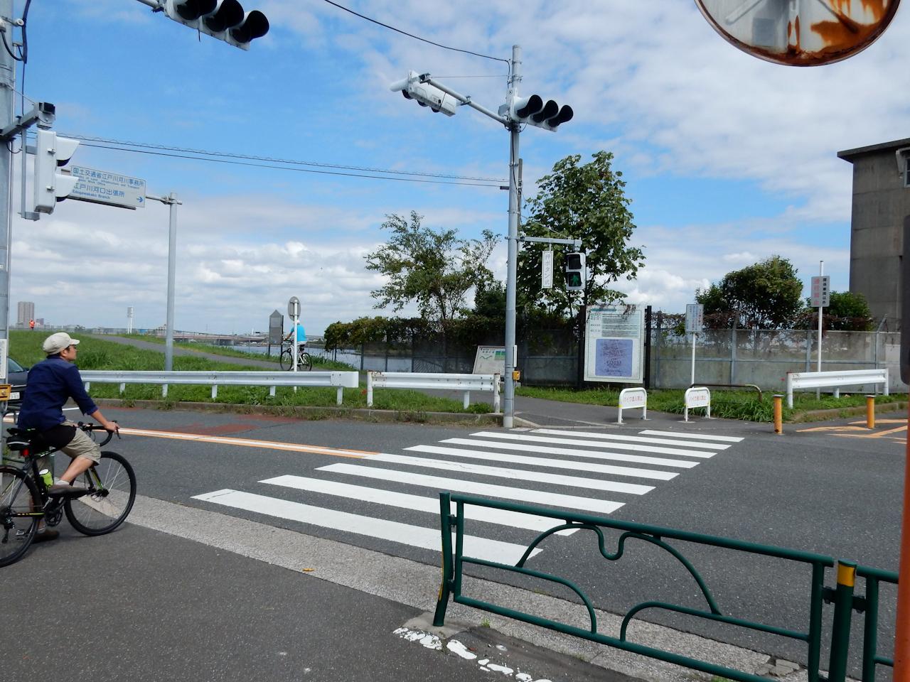 江戸川サイクリングロード 右岸