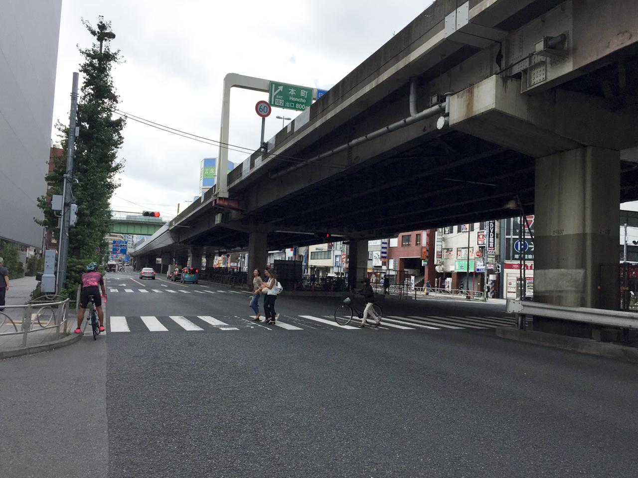 銀座 サイクリング 秋葉原