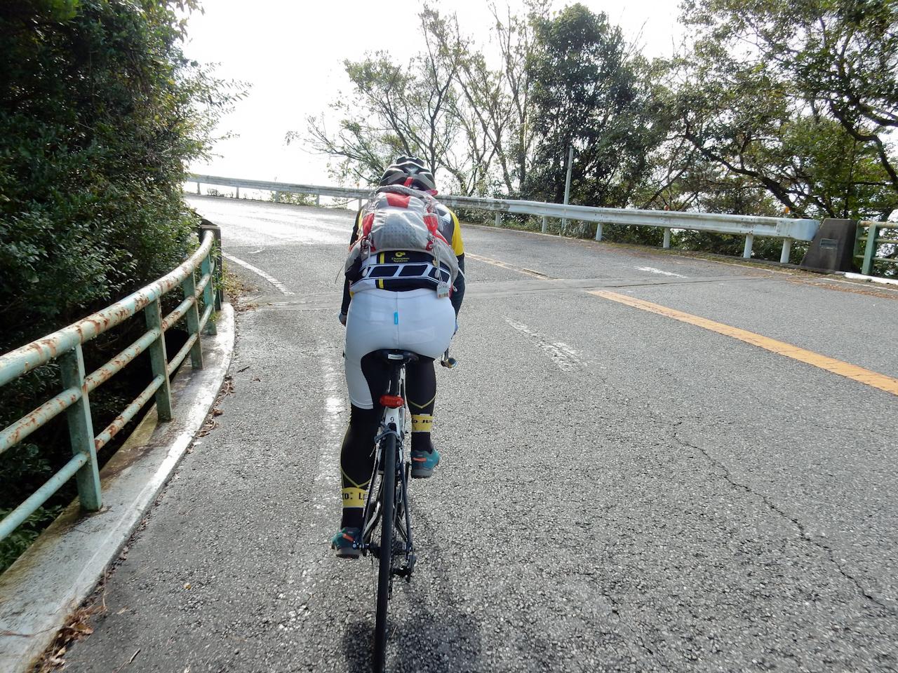 筑波山 ヒルクライム 風返峠からつつじヶ丘