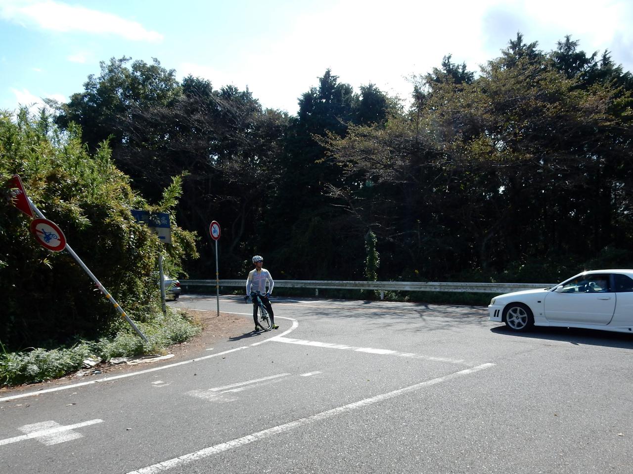 筑波山 ヒルクライム 風返峠から不動峠