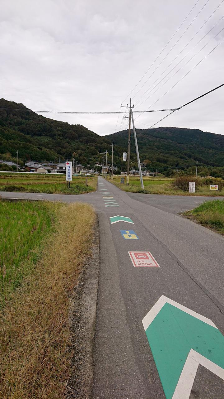 筑波山 ヒルクライム ツール・ド・つくばと同じコース