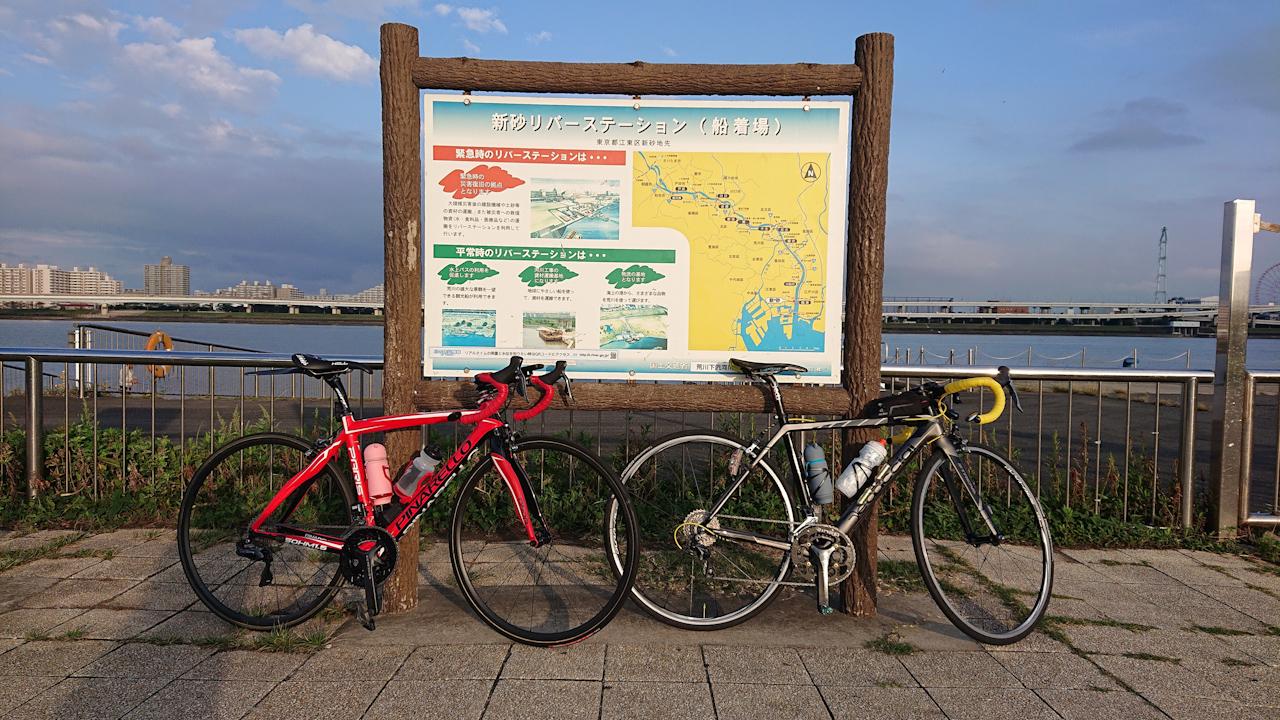 荒川サイクリングロード 右岸 河口