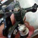 ブレーキ(BR-6800)を掃除しました。