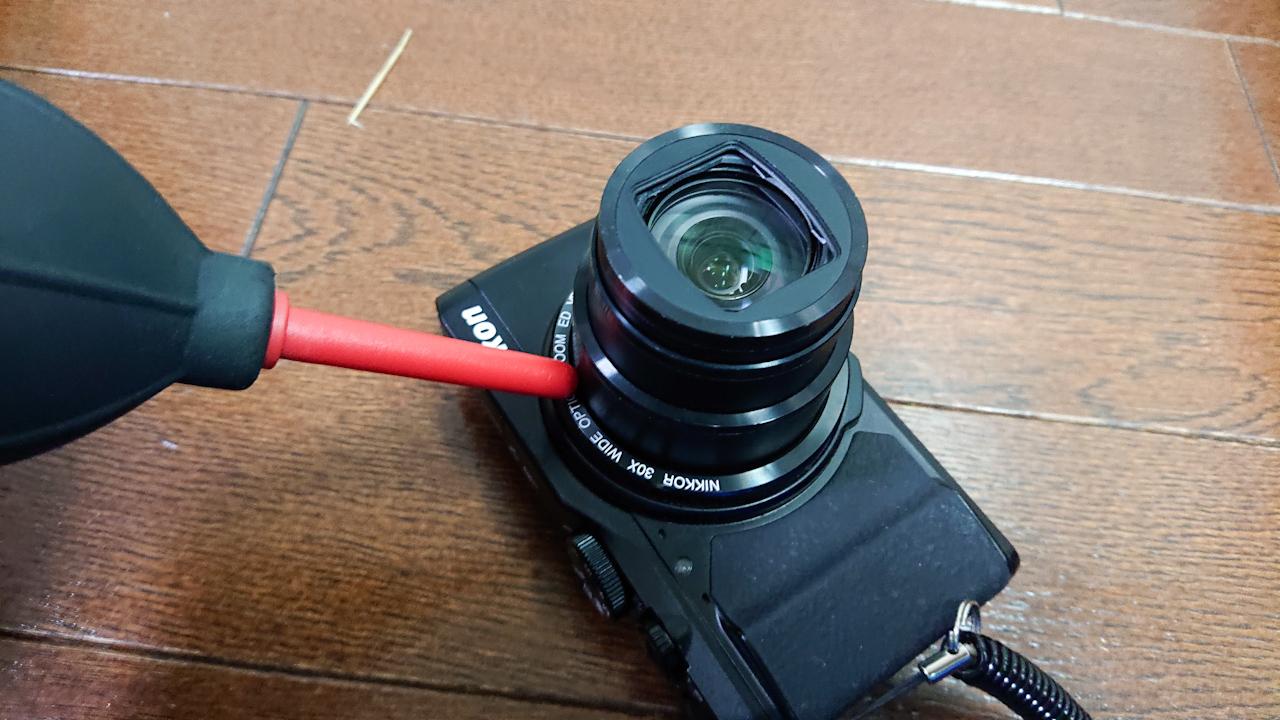 NIKON coolpix s9900 センサーのゴミ
